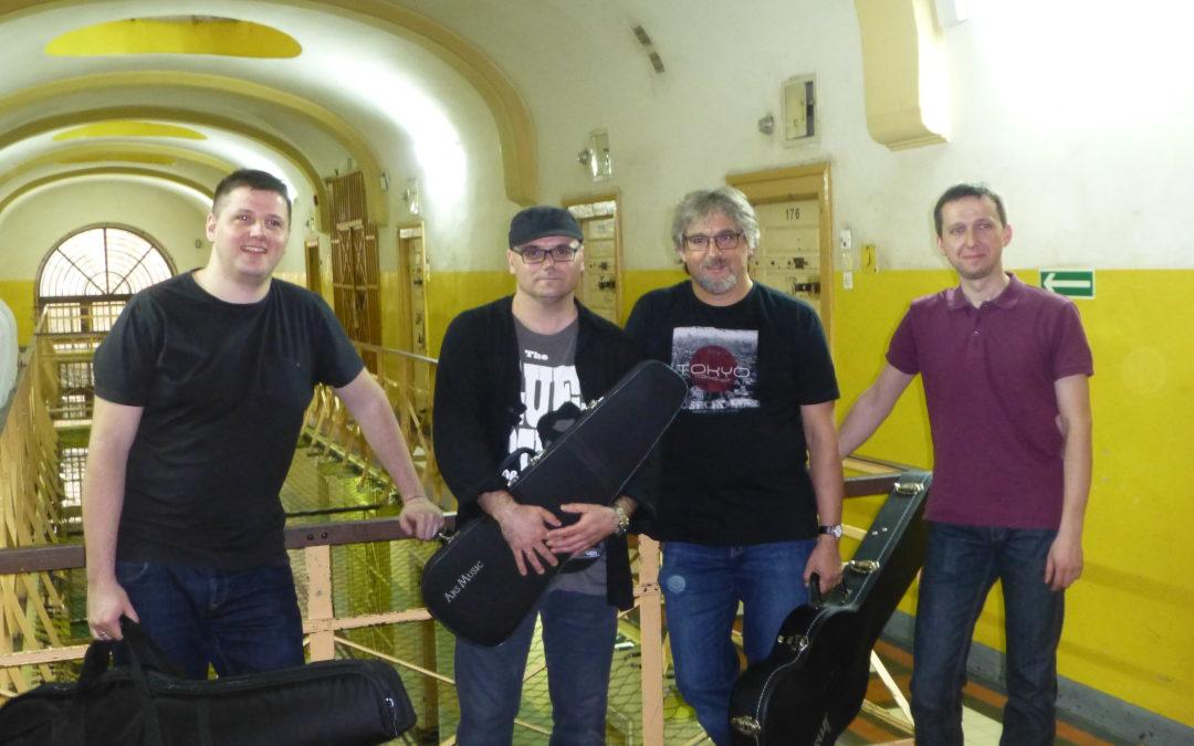 Koncert zespołu Kardioband w opolskim Areszcie Śledczym